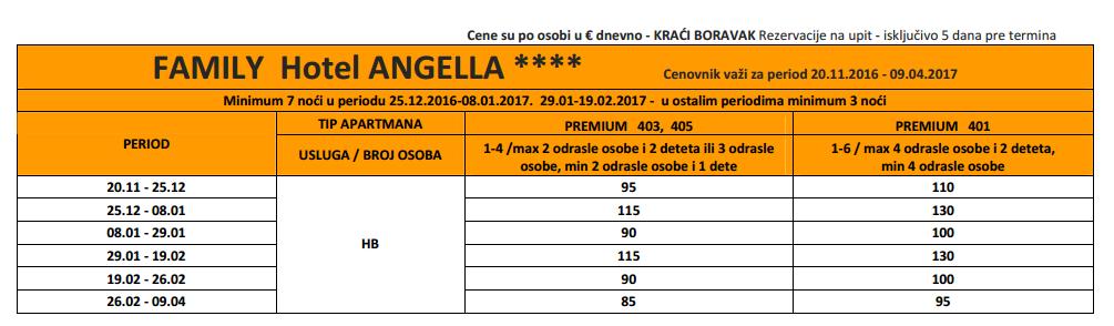 Hotel Angela Kopaonik - zima 2017.png - Feniks tours
