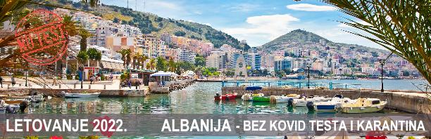 Letovanje 2022. - Albanija